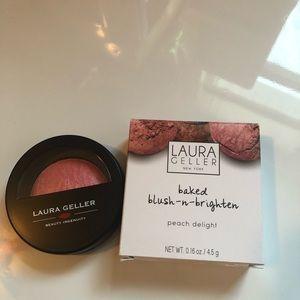 Laura Geller Makeup - Laura Geller baked blush in peach delight